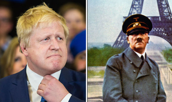 BREXIT ROW: Boris Johnson compares European Union 'superstate plans' to Hitler