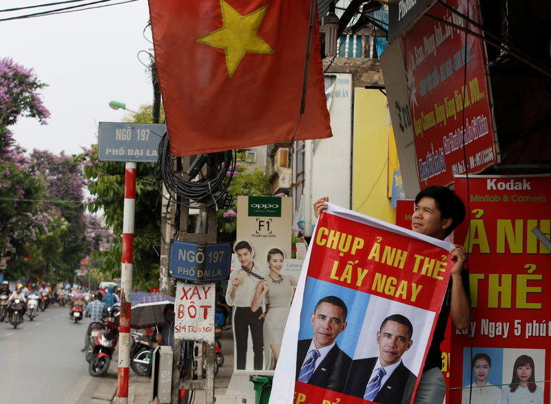 Obama, Bound For Vietnam, Seeks To Turn Old Foe Into New Partner