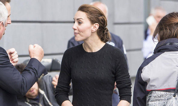 Casual Kate Middleton looks terrific in jeans and jumper after sailing trip