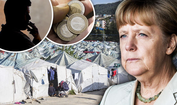 Refugee worker 'paid 35p to RAPE boys as young as EIGHT' in camp Merkel heralded a success