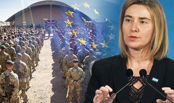 Female Italian EU boss behind migrant chaos set to order BRITISH ARMY into battle