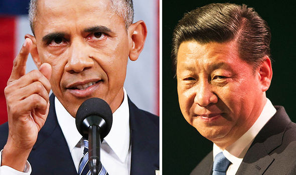 Obama plans 'MILITARY RESPONSE' after China intercepts US aircraft over South China Sea