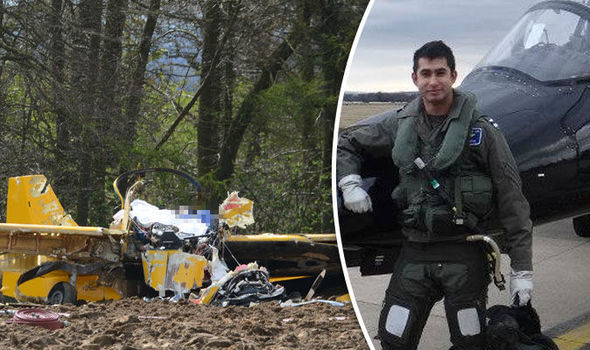 Two men killed in Yorkshire plane crash named as trainee RAF pilots