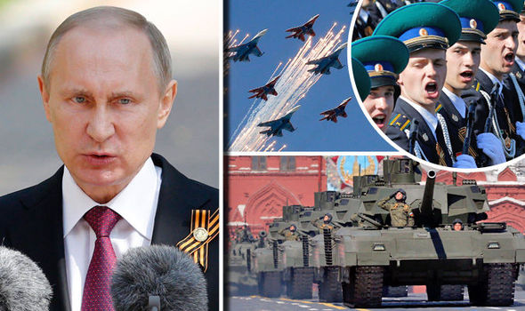 Putin on parade: Russia shows off tanks and air defence system to the world