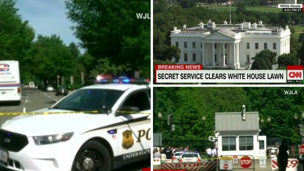 White House shooting: Secret Service stops armed man
