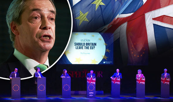 WATCH: Politicians go head-to-head over Brexit — and Leave campaign WINS audience vote