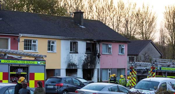Two dead, two in hospital, after house fire in Cork