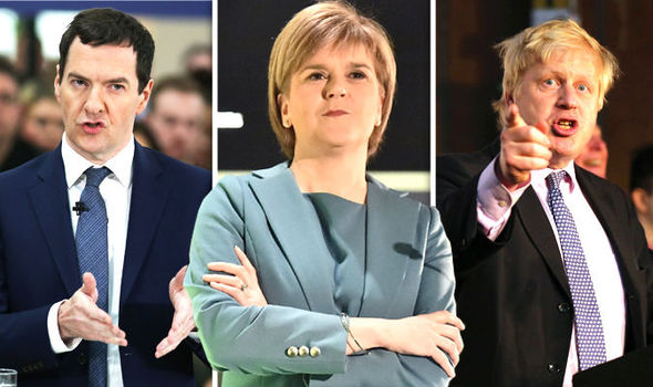 STOP PROJECT FEAR: Now Nicola Sturgeon slams Osborne's 'overblown' Treasury report claims