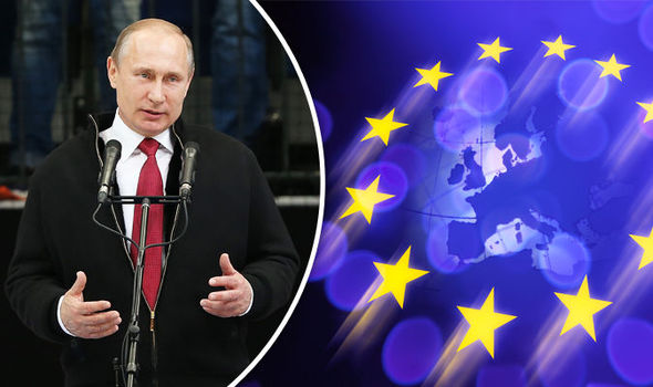 Quitting EU would be a 'GIFT' for Vladimir Putin, desperate pro-Brussels campaigners claim