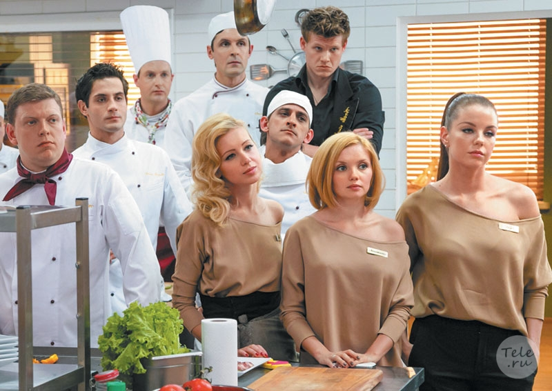 The network has new photos in of the star of the series «Kitchen»