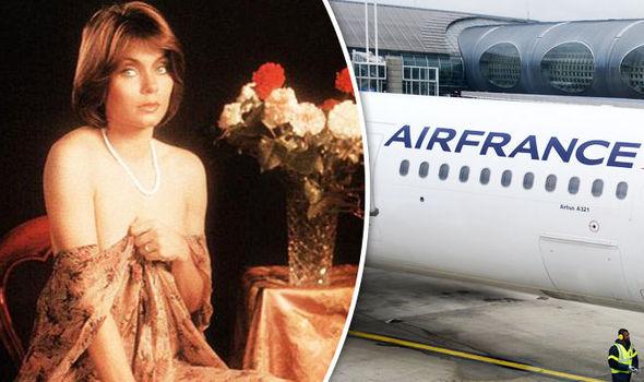 Erotic actress fined after drunken antics forced plane to make emergency landing