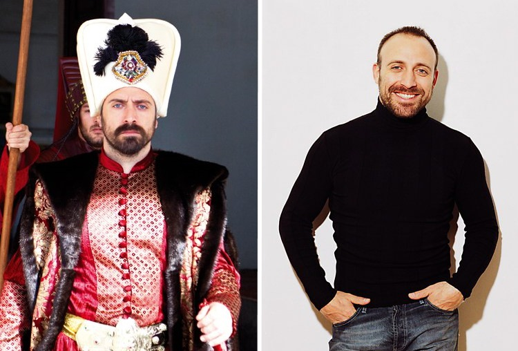 The actors of the series «Magnificent Century» in the movie and in real life. Incredible contrast!