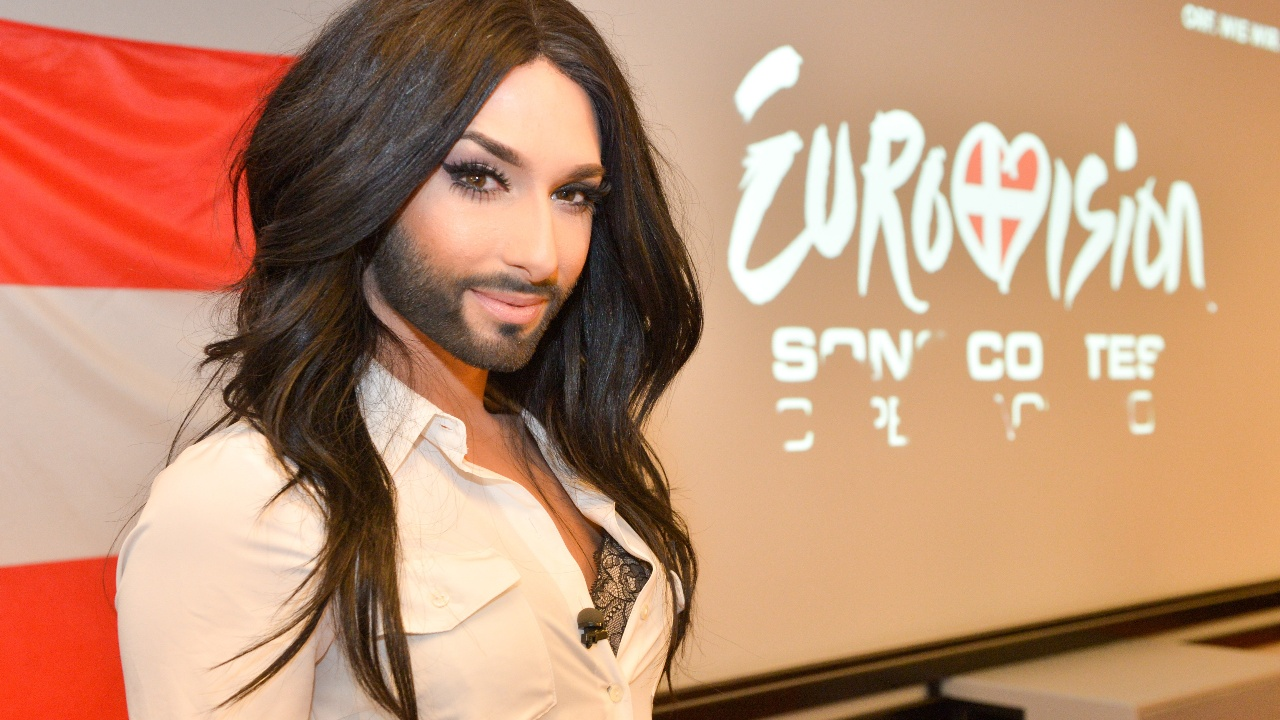 An oficcial husband of Conchita Wurst was shown for the first time