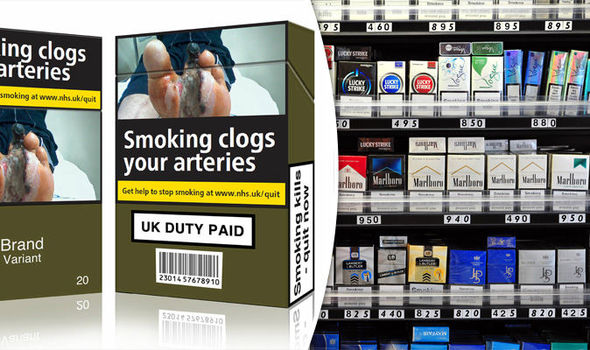 'WAR ON SMOKERS' Tobacco firms lose legal battle against HUGE health warnings
