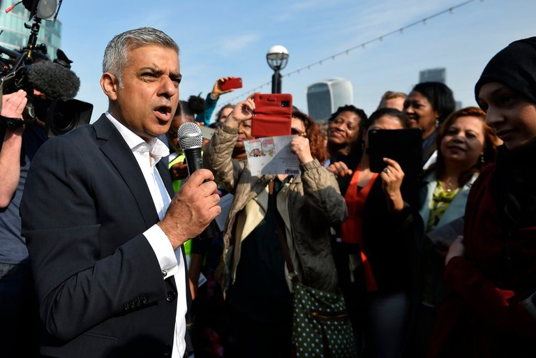 Sadiq Khan, London's Mayor, Hits Back at Donald Trump's Comments on Islam