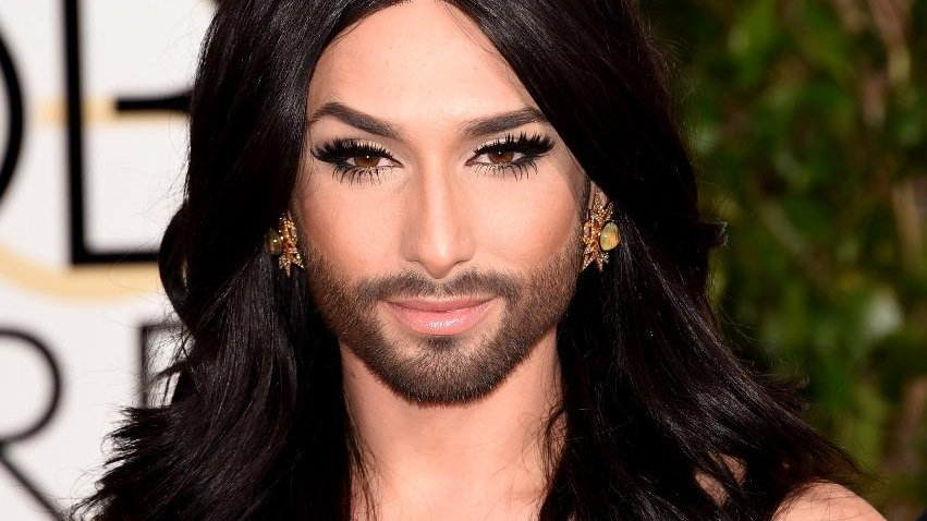 Conchita Wurst showed her body