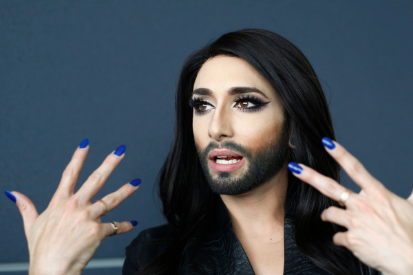 Conchita Wurst showed her husband for the first time
