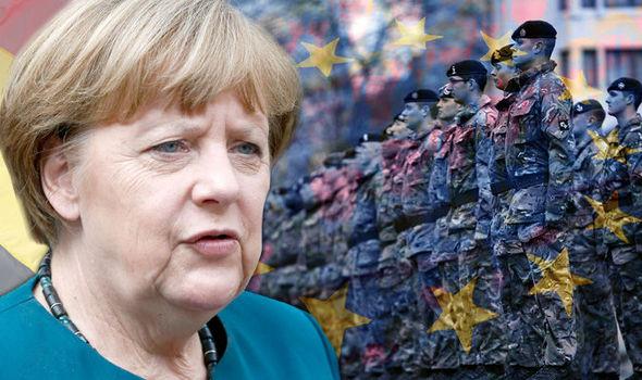Fury ERUPTS over German plot to HIDE secret EU army using UK troops till after referendum