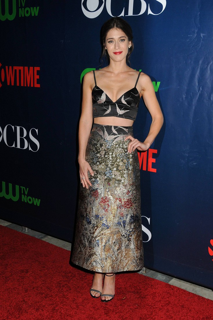 10 August 2015 - West Hollywood, California - Lizzy Caplan. CBS, CW, Showtime 2015 Summer TCA Party held at The Pacific Design Center. Photo Credit: Byron Purvis/AdMedia Photo via Newscom