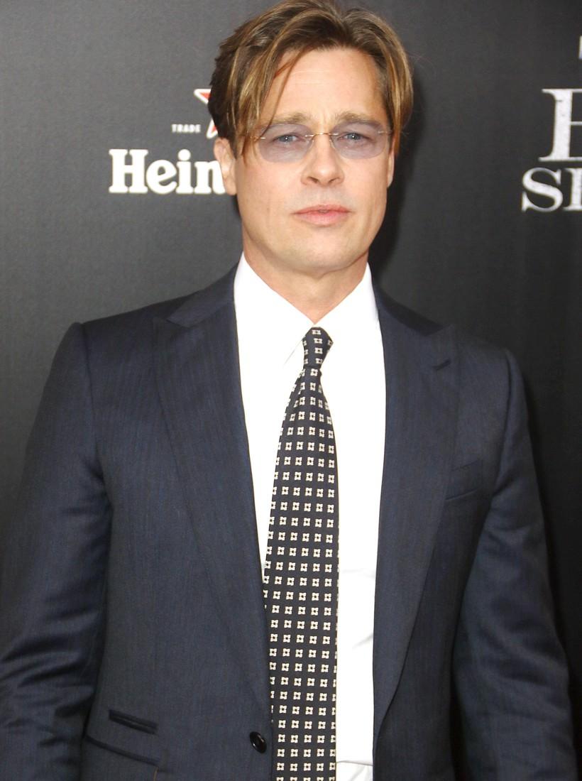 Brad Pitt 'The Big Short' New York premiere at Ziegfeld Theater on November 23, 2015 in New York City 11/23/15 © Ajbr/jpistudios.com 310-657-9661