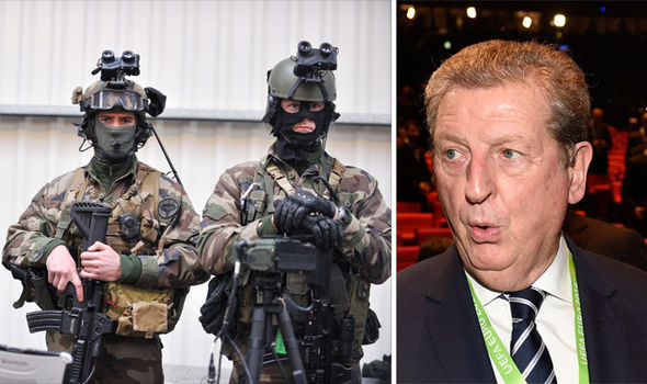 SNIPERS and MISSILES: Arsenal of weapons protecting Brits from ISIS terror at Euro 2016