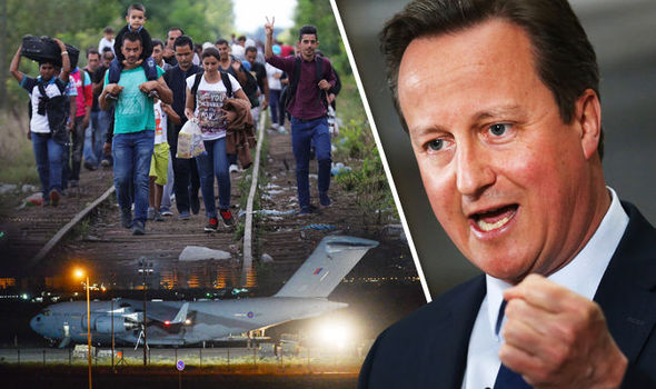 One million MORE Syrians heading for Europe unless RAF intervenes, David Cameron warned