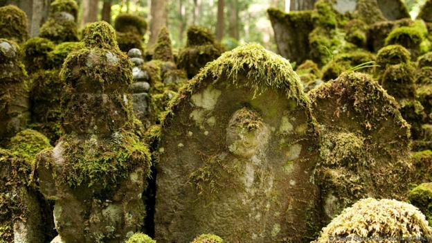The eerie grave of 200,000 monks