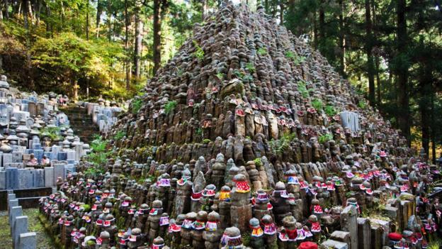 BF3YGF Okunoin Graveyard at Koyasan,  Japan