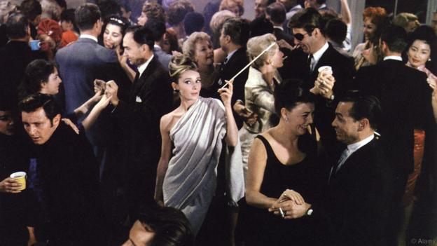A053KR BREAKFAST AT TIFFANY'S 1961 Paramount film with Audrey Hepburn