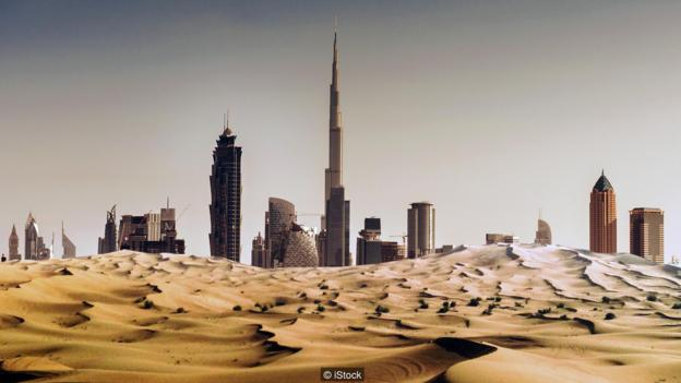 Why the desert city of Dubai imports its sand