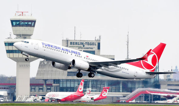 London-bound Turkish Airlines flight diverted as mobile phone sparks terror fears