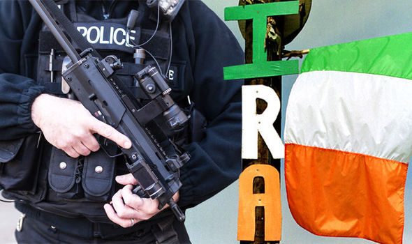 UK terror threat level RAISED as MI5 fears Northern Ireland-related attack