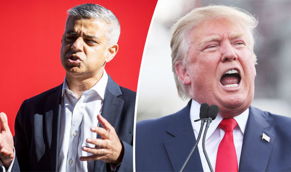 London Mayor banned from USA? MP questions if Sadiq will be allowed into Trump's America