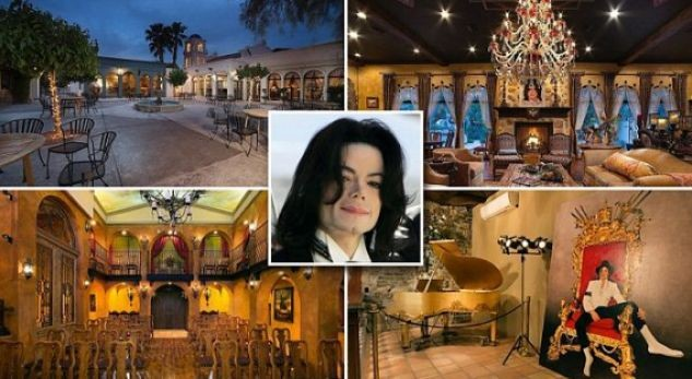 Michael's mansion for sale: Home where Jackson died is put on the market for $23.9million