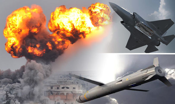 Heading for ISIS: Terrifying British-made missile even more DEADLY than feared Brimstone