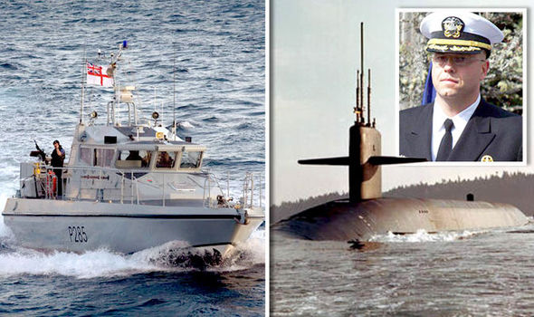 TRUTH behind the Gibraltar row: How US submarine threatened Royal Navy to act on Spain