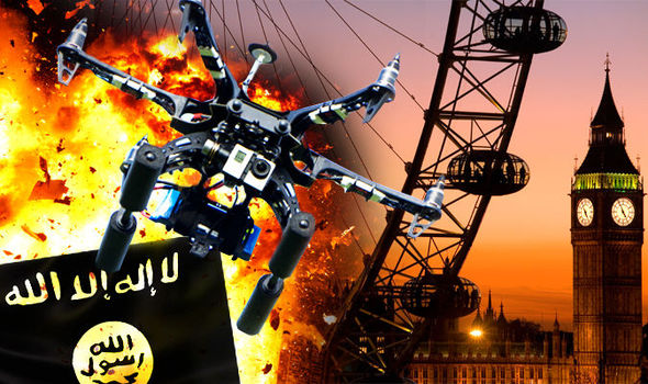 Britain is 'WOEFULLY unprepared for a terrorist drone attack and the threat is REAL'