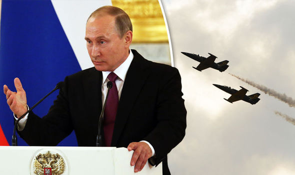 REVEALED: Russia spy planes in Britain's skies… and UK Government is ASSISTING the jets