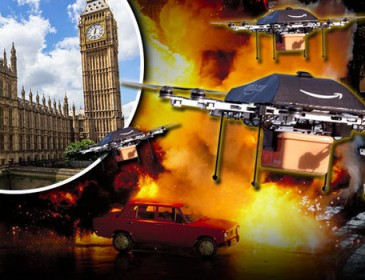 ATTACK OF THE DRONES: Why does Government back this flying nuisance despite terror fears?