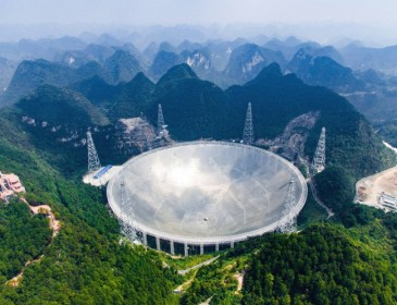 World's largest radio telescope starts looking for life on other planets