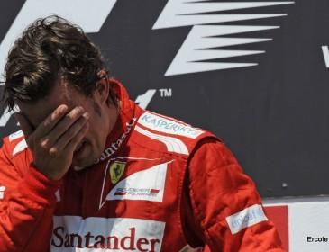 Sad day for Fernando Alonso Fans