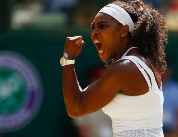 Serena Williams 'mesmerizes' F1 champ