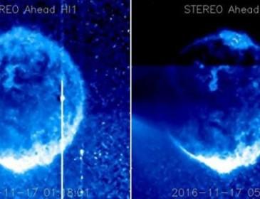 NASA Satellites Capture Apparent UFOs Flying Across The Sun
