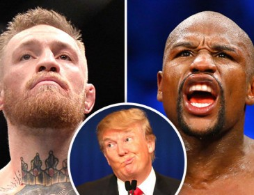 Floyd Mayweather in new fight with Conor McGregor…over Donald Trump