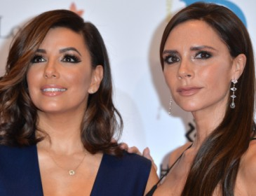 Eva Longoria reveals she has 'girlie sleepovers' with Victoria Beckham as she makes Loose Women debut