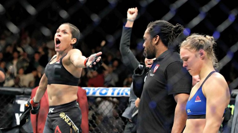 Amanda Nunes on Ronda Rousey: 'That's it for her, she's going to retire'