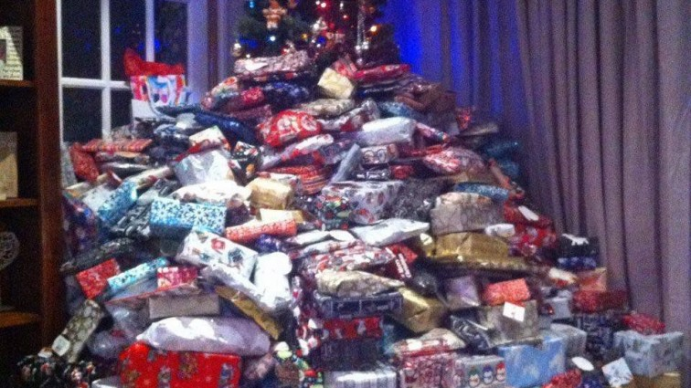 Mother accused of 'abusing' children with hundreds of presents vows to do it again this year
