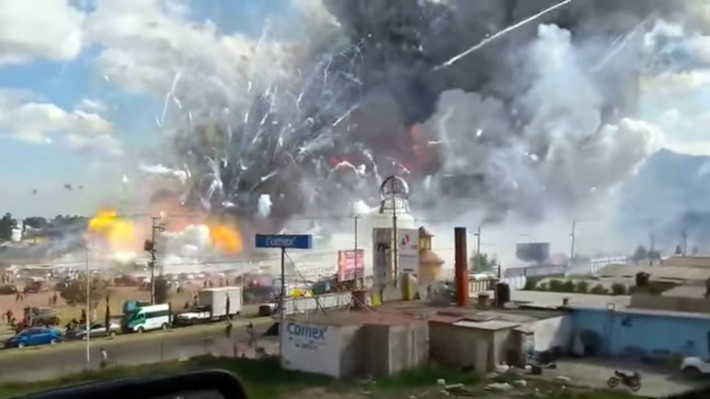 Mexico City fireworks blast kills 29