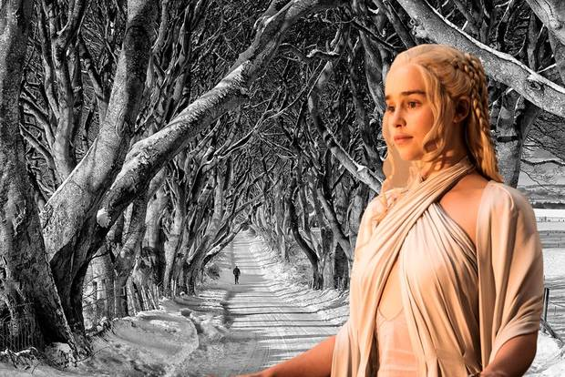 Game of Thrones Dark Hedges voted one of world's most beautiful places