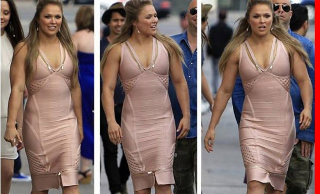 Ronda Rousey is Freaking HUUGE!